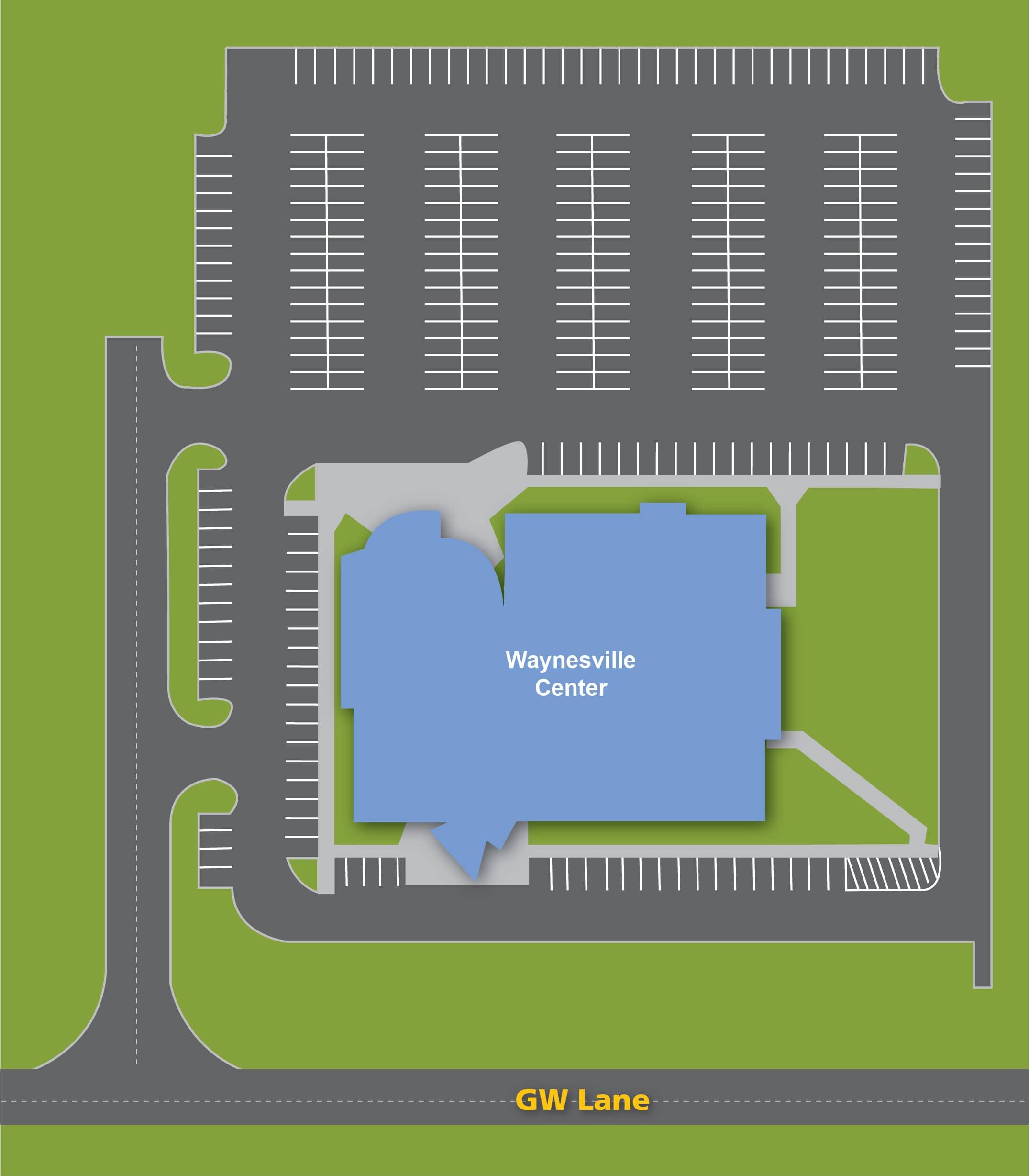 Waynesville Center Map